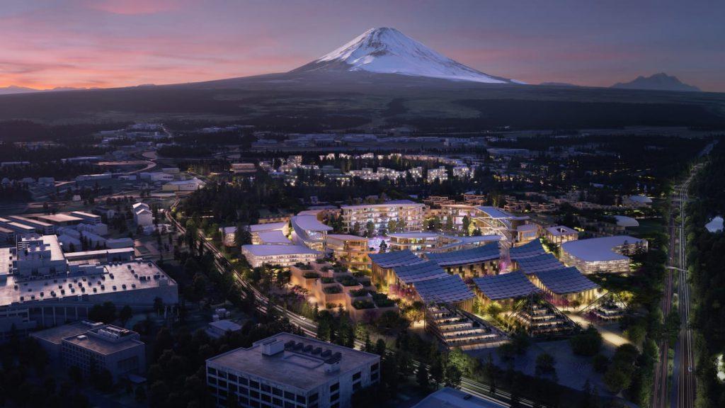 トヨタ、実証都市建設を発表