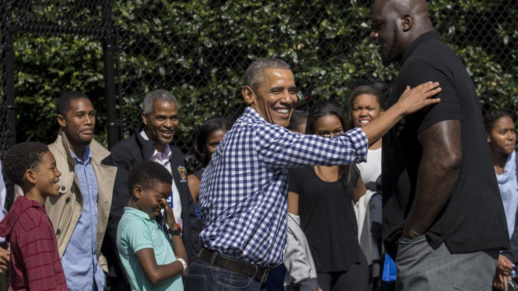 オバマ氏、NBAアフリカに参加